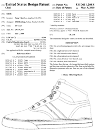 Clothing Design Patent Description Example Fashion amp Design Patent