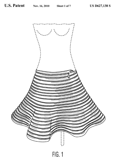 Clothing Design Patent Lawsuit At trial plaintiff would have