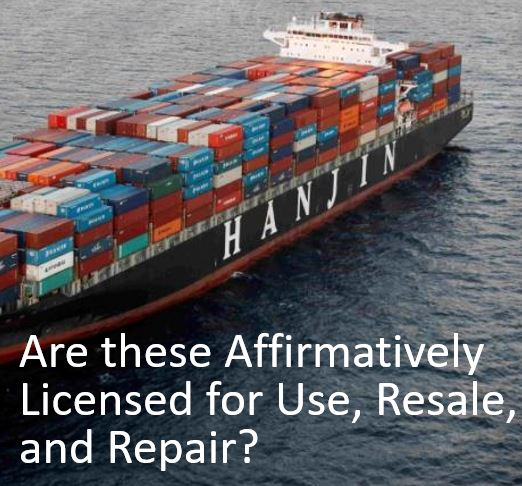 Can Your Patent Block Repair and Resale and Prevent Arbitrage?