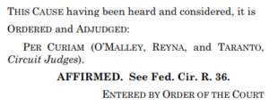 Federal Circuit has No Opinion; Senju Asks the Supreme Court for Its