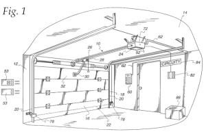 Chamberlain's Garage Door Opener invalid as an Abstract Idea