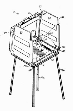 Portable Voting Booth Patent